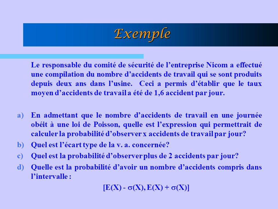 [E(X) - s(X), E(X) + s(X)]
